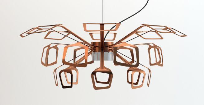 Spoon Pendant Lamp by multipod studio_2