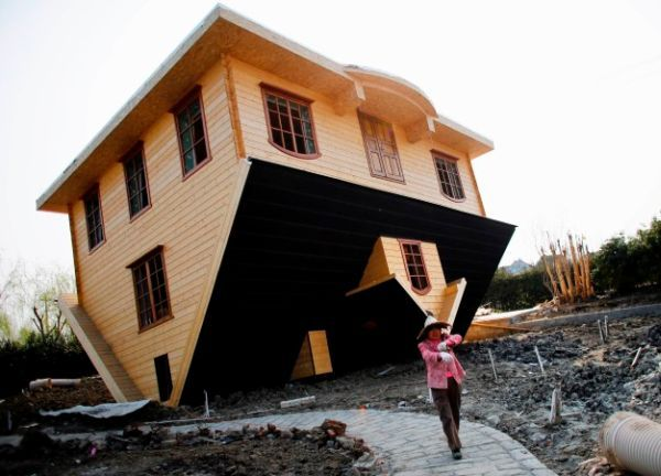 Upside down house by Fengjing in China_1