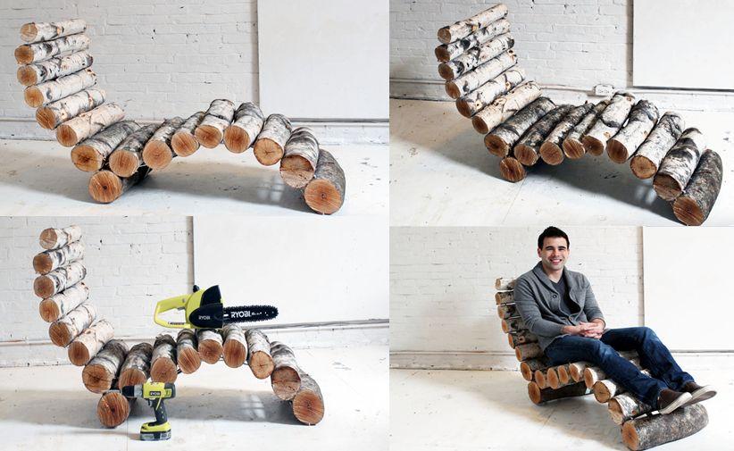 DIY EP14 Log Lounger_13