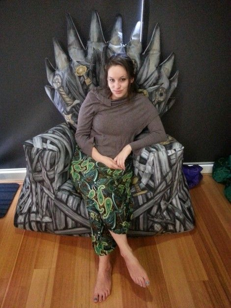 Iron Throne Bean Bag_1