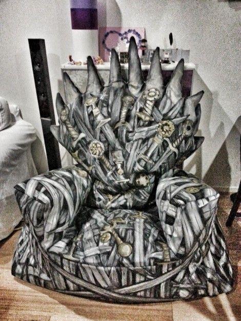 Iron Throne Bean Bag_2