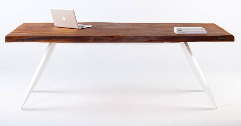 Kauri table crafted from old wood_1