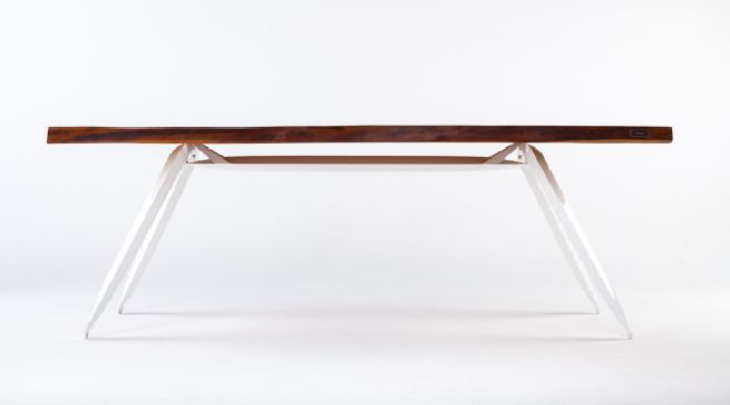 Kauri table crafted from old wood_2