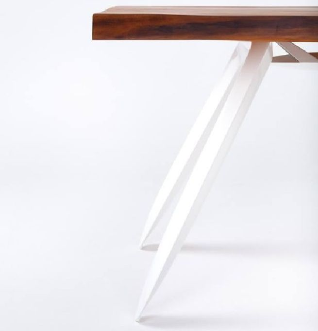 Kauri table crafted from old wood_4