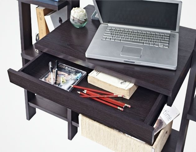 Ladder Bookcase with Desk_2