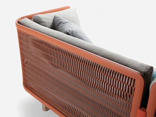 Metal Mesh Garden Sofa by Patricia Urquiola for Kettal_4