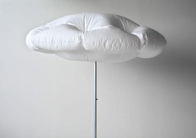 Solar powered Cumulus Parasol umbrella_2