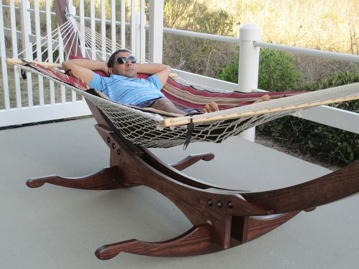 Charmant Glider Hammock: A Groovy Combo Of A Hammock And A Rocking Chair