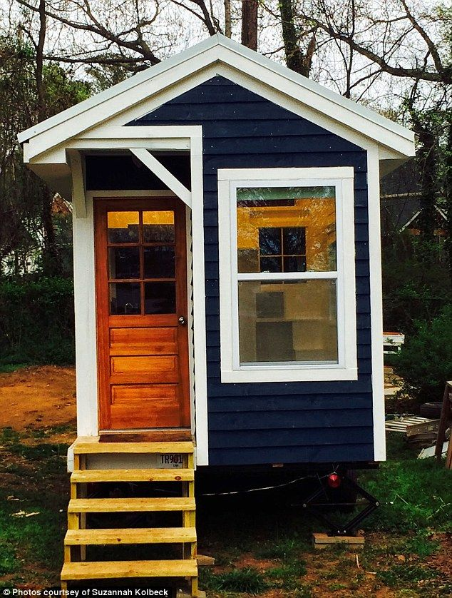 128-square-foot tiny house by Sicily Kolbeck_1