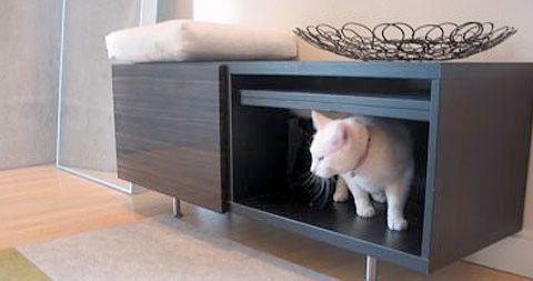 Elegant Cat Litter Box