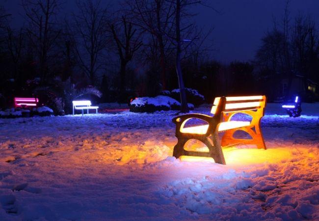 FOTON illuminating furniture