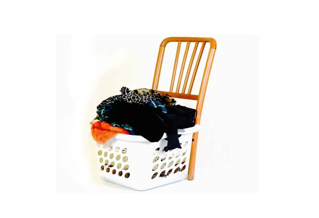 Superieur Martino Hamper Transforms Into A Chair Only When We Have Neglected Our  Laundry!