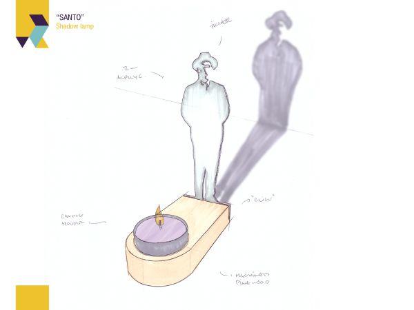 Santo - Shadow lamp_4