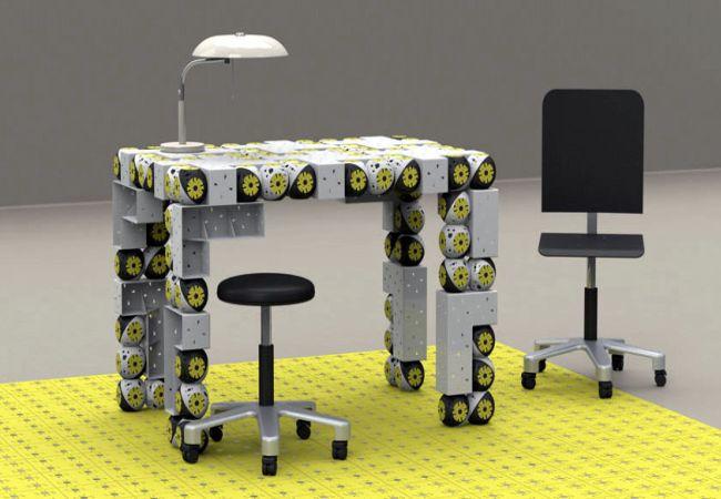 Self-Assembling Transformer Furniture Robots_1