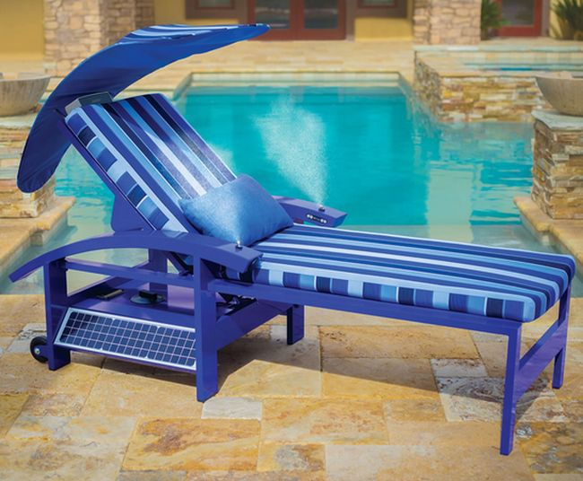 Solar Powered Entertainment Lounger_1