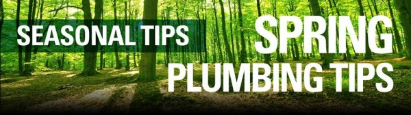 easy plumbing tips for the spring season