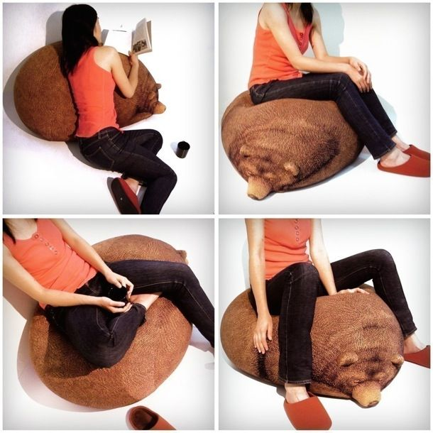 Bear Bean Cushion_3