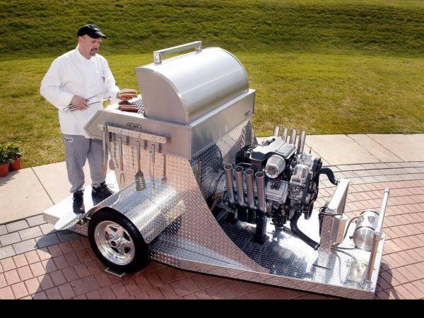 HEMI Powered Barbeque Grill