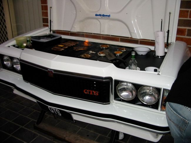 Holden Monaro GTS Barbecue
