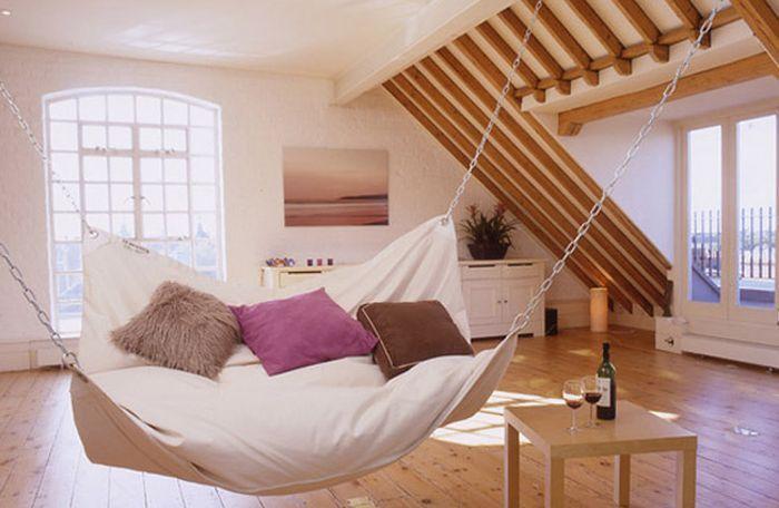 Living room hammock