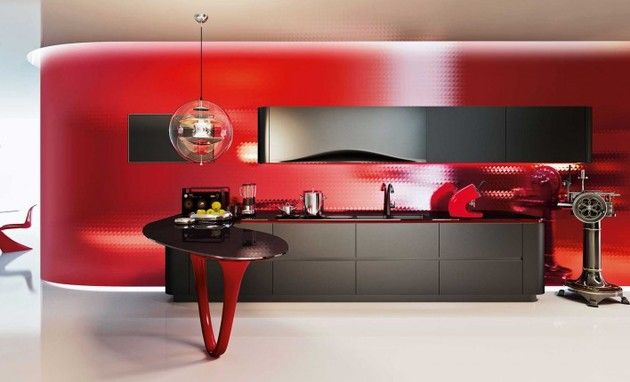 OLA 25 Ferrari Kitchen by Pininfarina and Snaidero_1