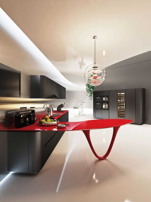 OLA 25 Ferrari Kitchen by Pininfarina and Snaidero_2