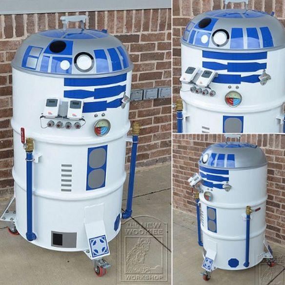 R2-D2 BBQ Grill