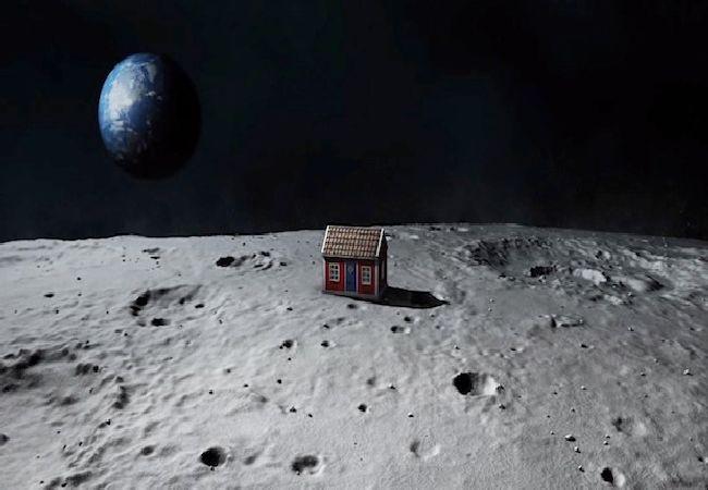 Self-assembling first moon house_1