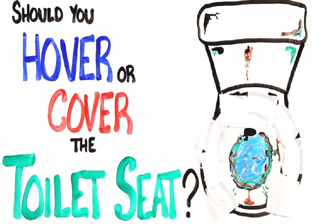 Should You Hover Or Cover The Toilet Seat