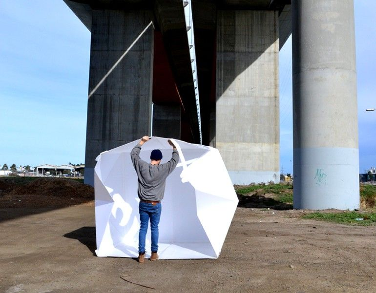 The flat-packed Compact Shelter by Alastair Pryor_3