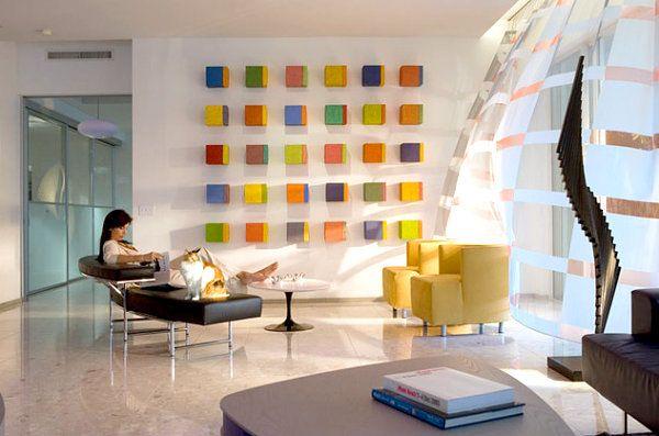 Artworks, wall-hangings interior decoration