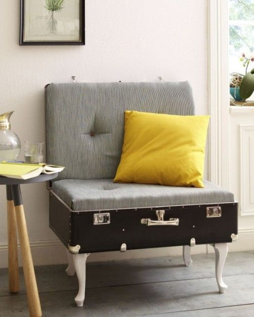 Suitcase Chair With Comfy Credentials