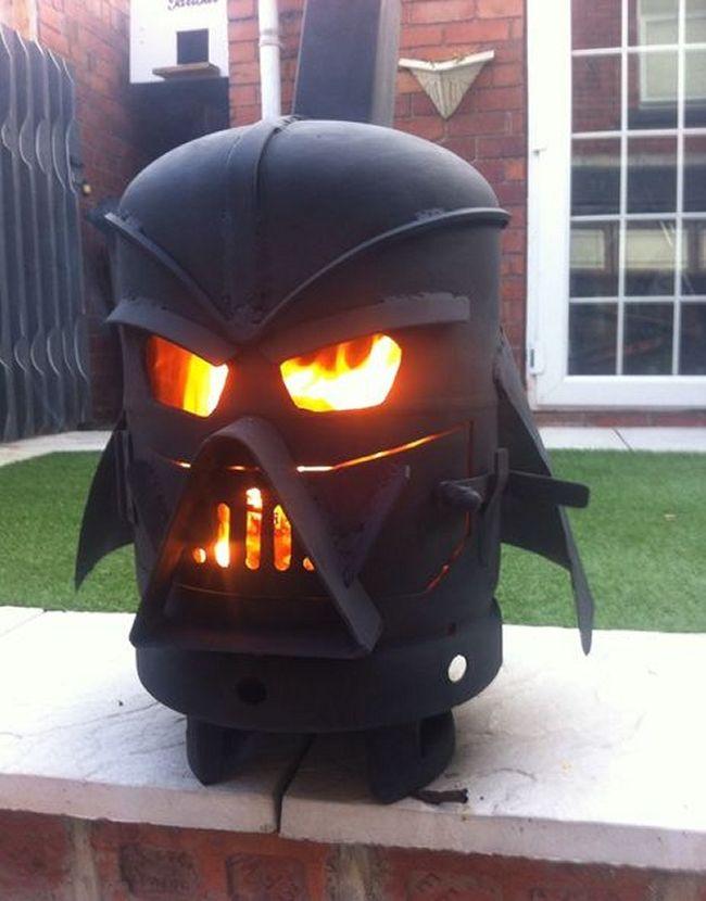 Vader Gas Bottle Log Burner by doddieszoomer_1