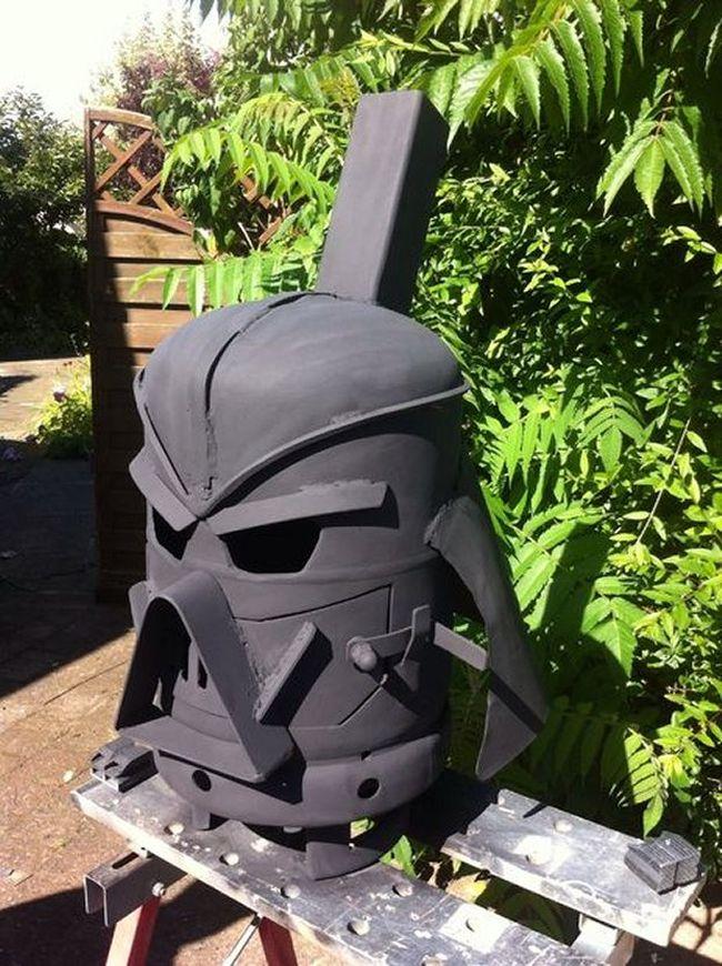 Vader Gas Bottle Log Burner by doddieszoomer_2