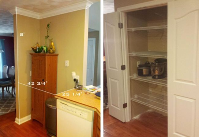 Step By Process Of Building A Pantry