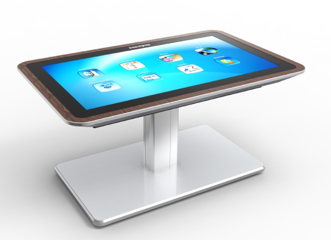 mesa interactive coffee table is 46-inch tablet for your living