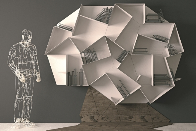 Slide Shelf by Daniele Lago