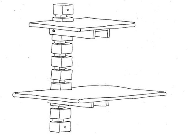 Wall-Mounted Standing Desk by Gereghty Desk Co._8