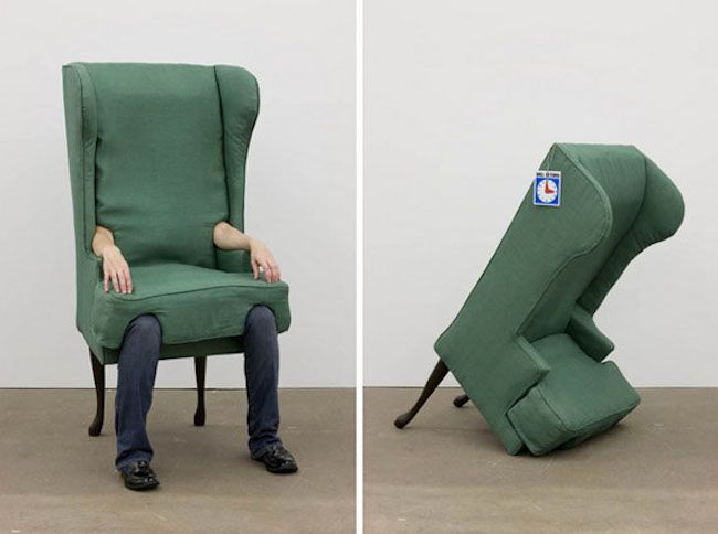 Wearable Human Chair by Artist Jamie Isenstein_1