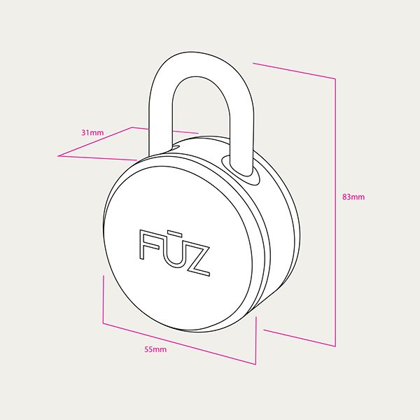 noke - Bluetooth Padlock by Arthur Healey_10