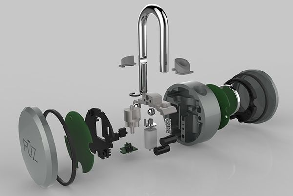 noke - Bluetooth Padlock by Arthur Healey_2