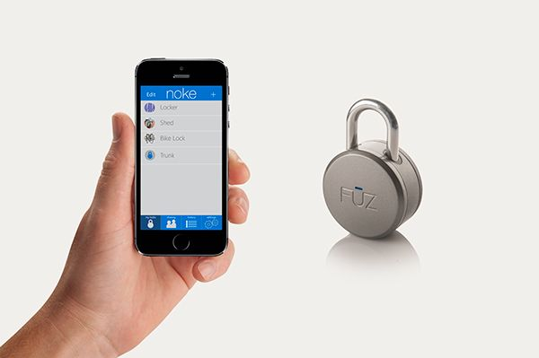 noke - Bluetooth Padlock by Arthur Healey_3