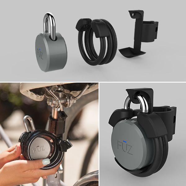 noke - Bluetooth Padlock by Arthur Healey_8
