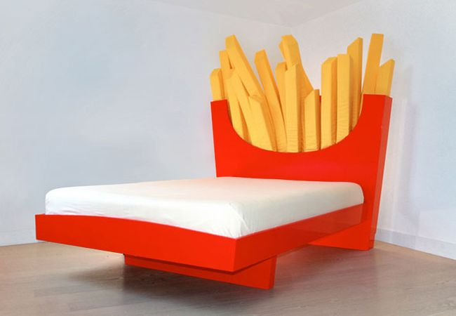 French Fries Bed_1