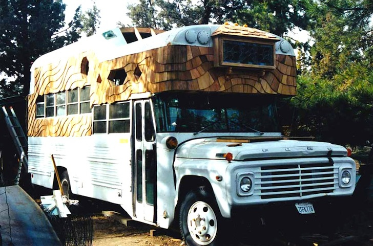 Steven Selby S Mobile Home Cum School Bus