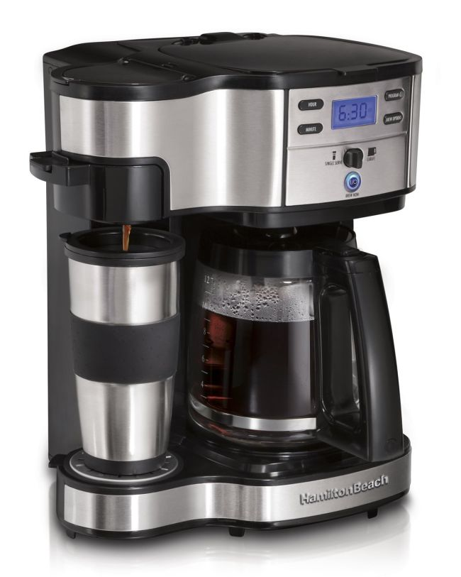 Hamilton Beach 2-Way Single Serve Brewer and Coffee Maker_9