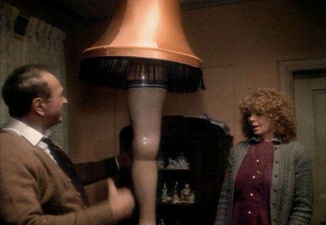 Leo Bonten's lamp made out of his actual leg