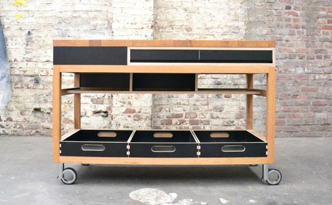 Mobile Kitchen Island With Seating Movable Intended For ...