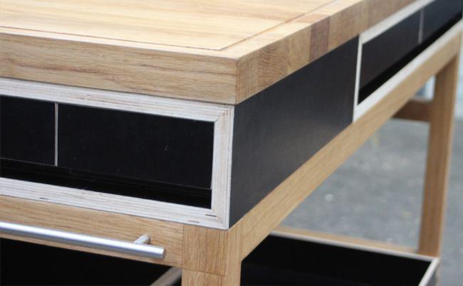Mobile kitchen counter by Pierre Joncquez_5