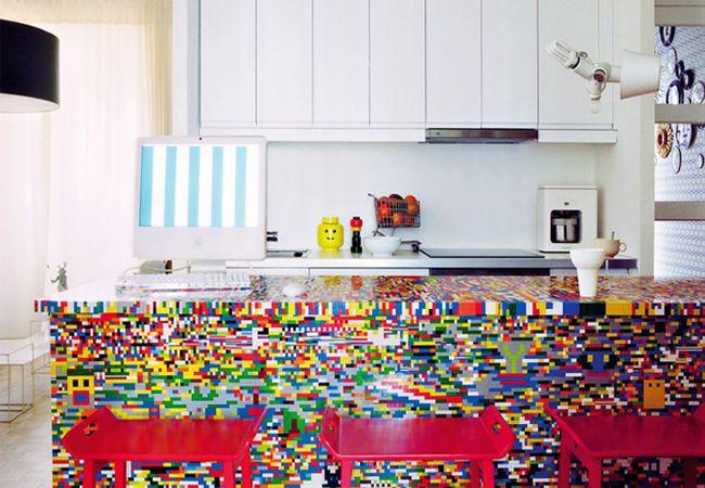 Munchausen Lego themed kitchen_1